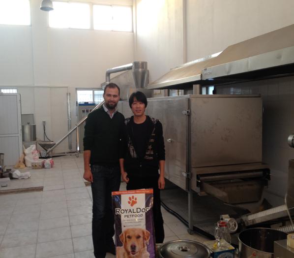 土耳其狗粮设备安装