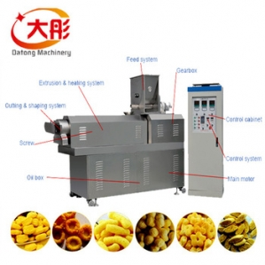 休闲小食品生产设备、膨化食品生产线