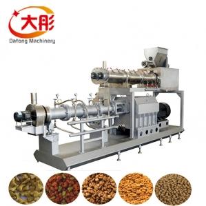 大彤膨化貂粮生产设备 饲料膨化机械