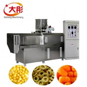 休闲食品膨化机生产线