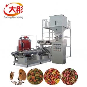 双螺杆膨化狗粮生产设备