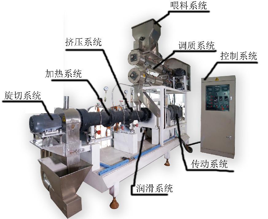 湿法饲料膨化机